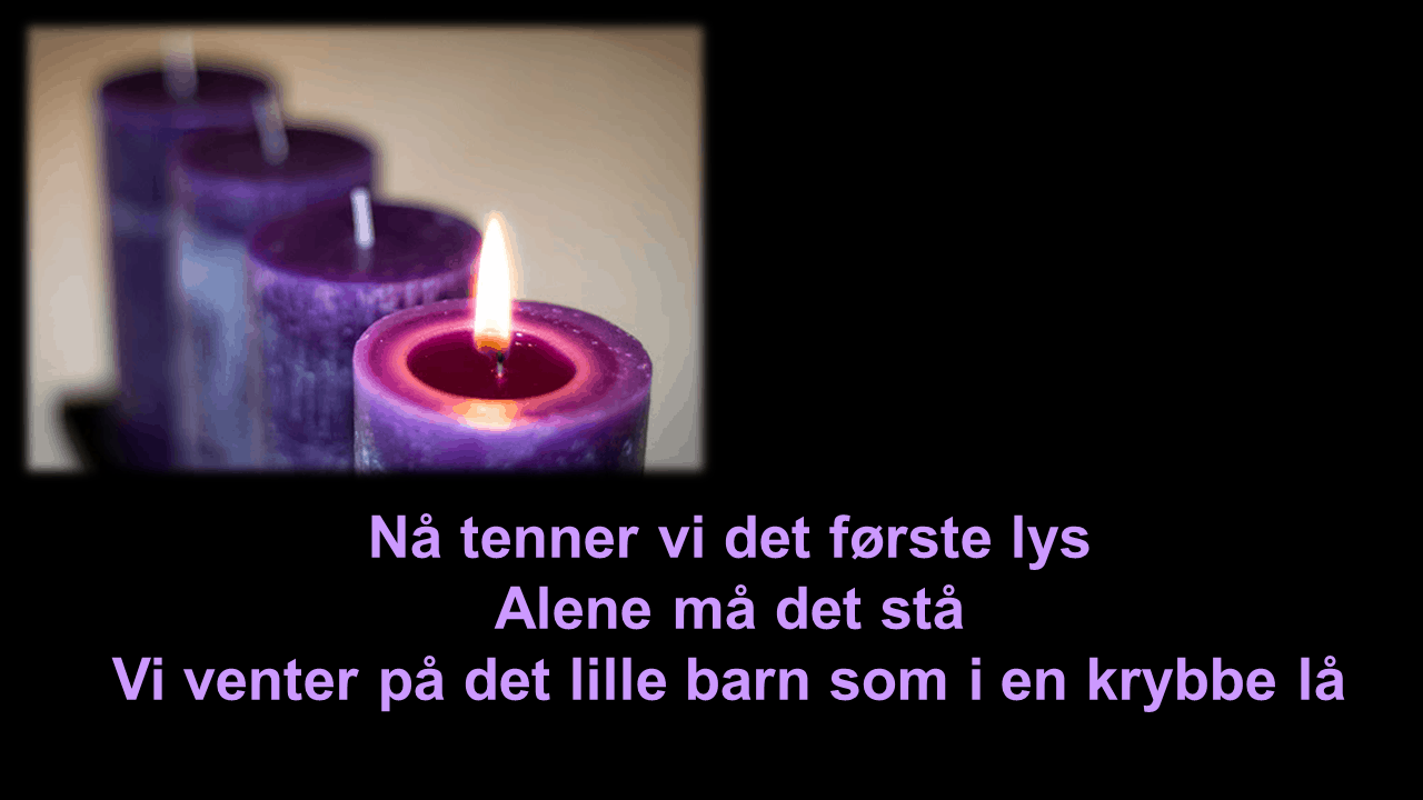 1. søndag advent