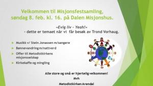 Misjonsfestsamling